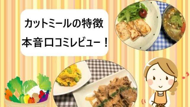 【ヨシケイ】カットミール3つの特徴と本音口コミ【実食レビュー】
