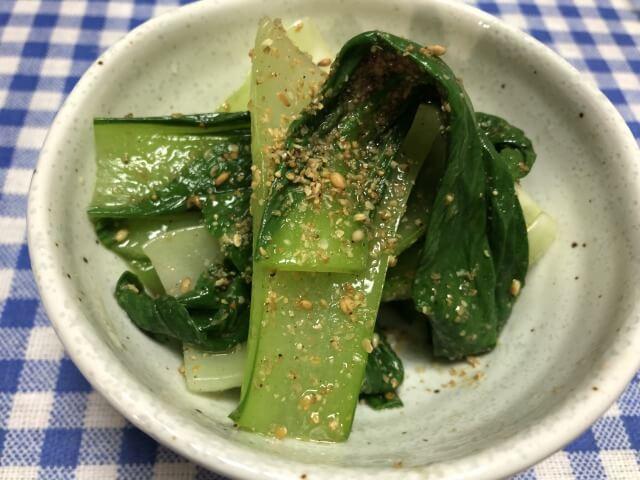 らでぃっしゅぼーや チンゲン菜のナムル