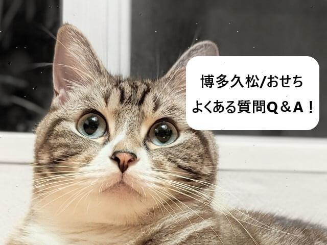 博多久松/おせち よくある質問Q&A